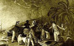 Storia - I popoli indigeni del Brasile Ai tempi delle prime esplorazioni europee, i popoli indigeni erano tradizionalmente tribù semi-nomadi che vivevano di caccia, pesca ed agricoltura. Molte delle circa 2000 tribù che esistevano furono  #indios #legname #oro #portoghesi
