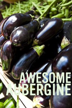 It's eggplant season! This versatile veggie has big flavour, and is the perfect fall accompaniment to your next roast or appetizer. We recommend it grilled with a little balsamic glaze, it's divine! Balsamic Glaze, Eggplant, Grilling, Roast, Appetizers, Seasons, Trends, Vegetables, Big