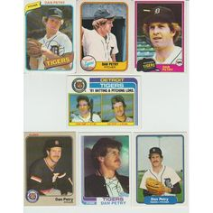 Huge 25 + Different DAN PETRY cards lot 1980 - 1991 all Tigers Listing in the 1980-1989,Sets,MLB,Baseball,Sports Cards,Sport Memorabilia & Cards Category on eBid United States | 147952993