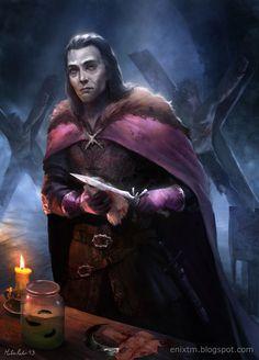 Roose Bolton, Lord of Winterfell by MihaiRadu on deviantART