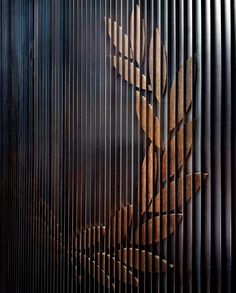 Individual Laurel leaves, sculpture Fred Perry Henrietta St
