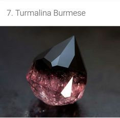 Beautiful Rocks and Minerals (with names) - Burmese Tourmaline Minerals And Gemstones, Rocks And Minerals, Rare Gemstones, Beautiful Rocks, Naturally Beautiful, Mineral Stone, Rocks And Gems, Healing Stones, Healing Crystals