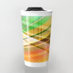 Buy pattern pastel yellow and green Travel Mug by Christine baessler. Worldwide shipping available at Society6.com. Just one of millions of high quality products available.