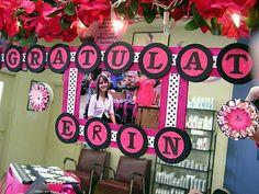 Graduation decorating idea