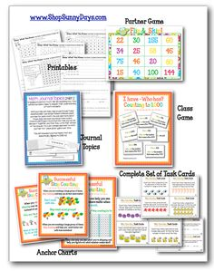 Common Core Essentials  - Pack of standard specific activities. Anchor charts, printables, journal topics, center activities, games... $5.75