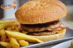 Hamburger, Ethnic Recipes, Twitter, Food, Essen, Burgers, Meals, Yemek, Eten