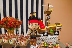 Mamãe Coruja Festas : Festa Jake e os piratas da Terra do Nunca