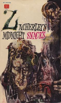 Midnight Snacks, art by Richard M. Powers, book cover