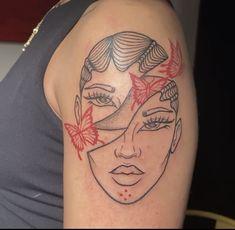 Red Ink Tattoos, Forarm Tattoos, Girly Tattoos, Little Tattoos, Pretty Tattoos, Mini Tattoos, Cute Tattoos, Body Art Tattoos, Tatoos