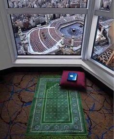 Most beautiful scene of Makkah