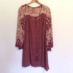 Boho Dress Beautiful burgundy boho dress! Angie Dresses Mini