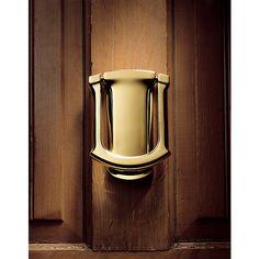 Baldwin 105 Tahoe Style Solid Brass Door Knocker (satin brass and black) Baldwin Hardware, Door Knockers, Front Porch, Photo Galleries, Wall Lights, Brass, Doors, Gallery, Tableware