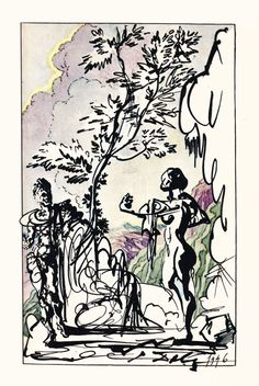 Salvador Dalí Illustrates Montaigne: Sublime Surrealism from a Rare 1947 Limited Edition, Signed by Dalí   Brain Pickings