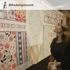 Trend Expert @nancy_fire of Design Works Int'l Creative Director/Founder HGTV HOME Design Director talks about one of the hottest trends in surface pattern design- The Global Experience of expected motifs married with unexpected colors. Stay tuned for more on #SurfacePatternTrends from #surtexshow where Karen LeBlanc, @TheDesignTourist is filming all day to bring you new episodes of #TheDesignTourist  #Surtex #Pattern #Design #Designer #Artist #Motifs #Artwork #ConsumerTrends #DesignTrends…