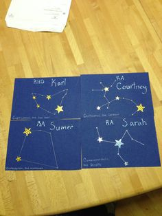 Constellation door tags