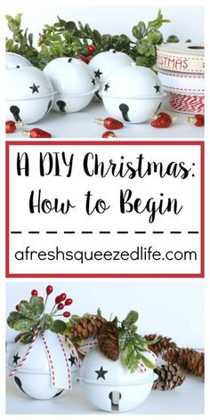 Christmas is coming and if you are like me, it's time to get to making! A DIY Christmas is a perfect way to personalize your look and enjoy crafting!