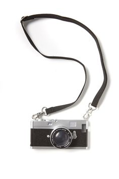 vintage camera phone cover 5, BLACK