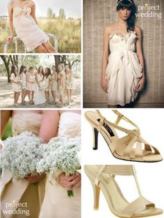 SanFran's biography - Project Wedding.. seriously love the top right dress, but cant find where it is from!