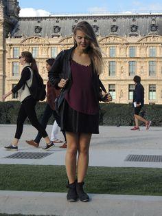 'Paris Ô Mon Amour' #outfit on www.naloudesbois.com