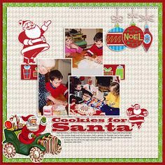 Layout using Christmas Past by Polka Dot Pixels