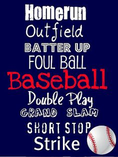 Baseball one...I changed the background to orange...my grandsons team color...and it turned out cute!