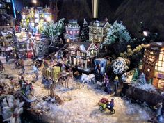 2012 Christmas village