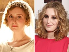 Lady Edith is played by Laura Carmichael