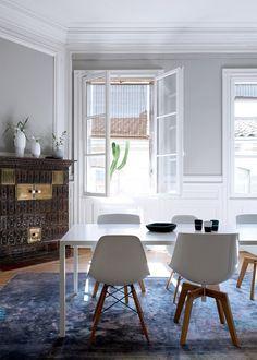 Casinha colorida: Especial salas de jantar 2016: as decorações simples, porém não simplistas