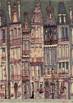 Matthew Sharack, architectural ilustrations