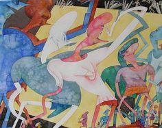 Gladys Nilsson American Artist ~ Blog of an Art Admirer