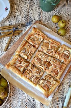 Pear Tart, Fruit Trees, and Bougainvilleas