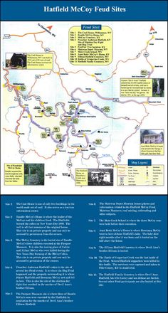 Hatfield and McCoy Area Maps | Hatfield McCoy Country