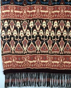 Textile from Sumba Island.