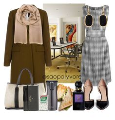 Tuesday (1/3/2016) by saopolyvore on Polyvore featuring ファッション, L'Agence, Paul Smith, Chloé, Hermès, Melissa Joy Manning, Agnona, Kate Spade, Tom Ford and Contigo