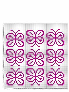 Одноклассники Tiny Cross Stitch, Butterfly Cross Stitch, Cross Stitch Flowers, Cross Stitch Charts, Cross Stitch Patterns, Fair Isle Knitting Patterns, Knitting Charts, Knitting Stitches, Abc Letra
