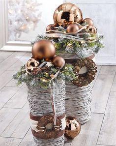Inspiration Weihnachtsdeko. Material von buttinette.