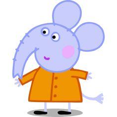 Amigos de peppa Pig elefante Emily