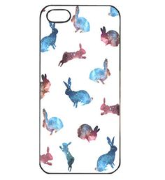 Galaxy Rabbits iPhone Case: this screams Adam.