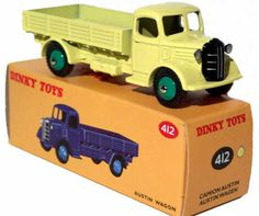#diecast #Dinky Atlas 412 Austin Wagon new or updated at www.diecastplus.info