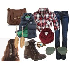 """Glamping Outfit"" by tessamarie3 on Polyvore"