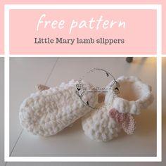 Little mary lamb – cozy blanket – FREE crochet pattern Baby Booties Free Pattern, Crochet Baby Booties, Crochet Slippers, Half Double Crochet, Single Crochet, Crochet For Kids, Free Crochet, Crochet Lovey, Baby Patterns