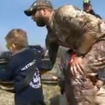 Six-year-old boy fulfills dream by becoming a Navy SEAL for a day