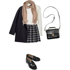 BTS in a week by cnline on Polyvore featuring Vero Moda, H&M, Monki and Acne Studios