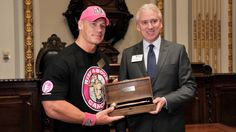 John Cena rings The Closing Bell at the New York Stock Exchange: photos | WWE Community #WWE