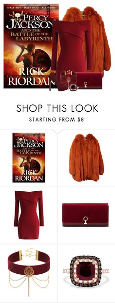 Percy Jackson and the Battle of the Labyrinth(book 4) - Rick Riordan by ninette-f on Polyvore