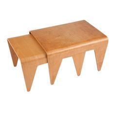 Pair of Marcel Breuer nesting tables for Isokon   1stdibs.com