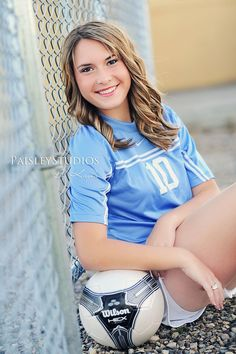 girls soccer senior photos - Google Search