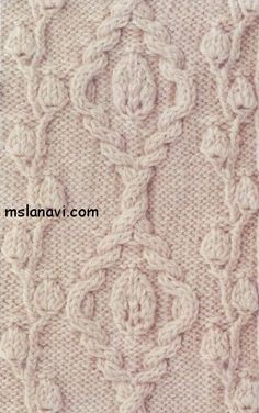 Knitting beautiful patterns - Knitting - a photo from .- Вязание красивые узоры – Вязание – фото из жу… Knitting beautiful patterns – Knitting – photo from magazines - Cable Knitting, Knitting Stiches, Knitting Charts, Crochet Stitches, Lace Knitting Patterns, Celtic Patterns, Stitch Patterns, Knitting Projects, Crochet Lace