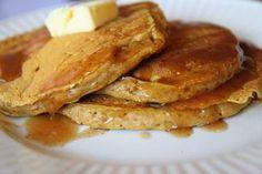 Sourdough discard: Pumpkin Sourdough Pancakes