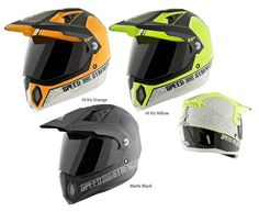 Speed and Strength - SS2500 Hell 'n Back Helmet